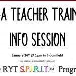 YOga Teacher Training trauma Informed